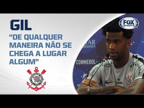CORITNHIANS AO VIVO! Gil fala da preparação do Timão para semifinal da Sul-Americana