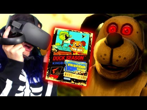 Playing A Haunted Creepypasta Game!! | Duck Season VR Full Playthrough