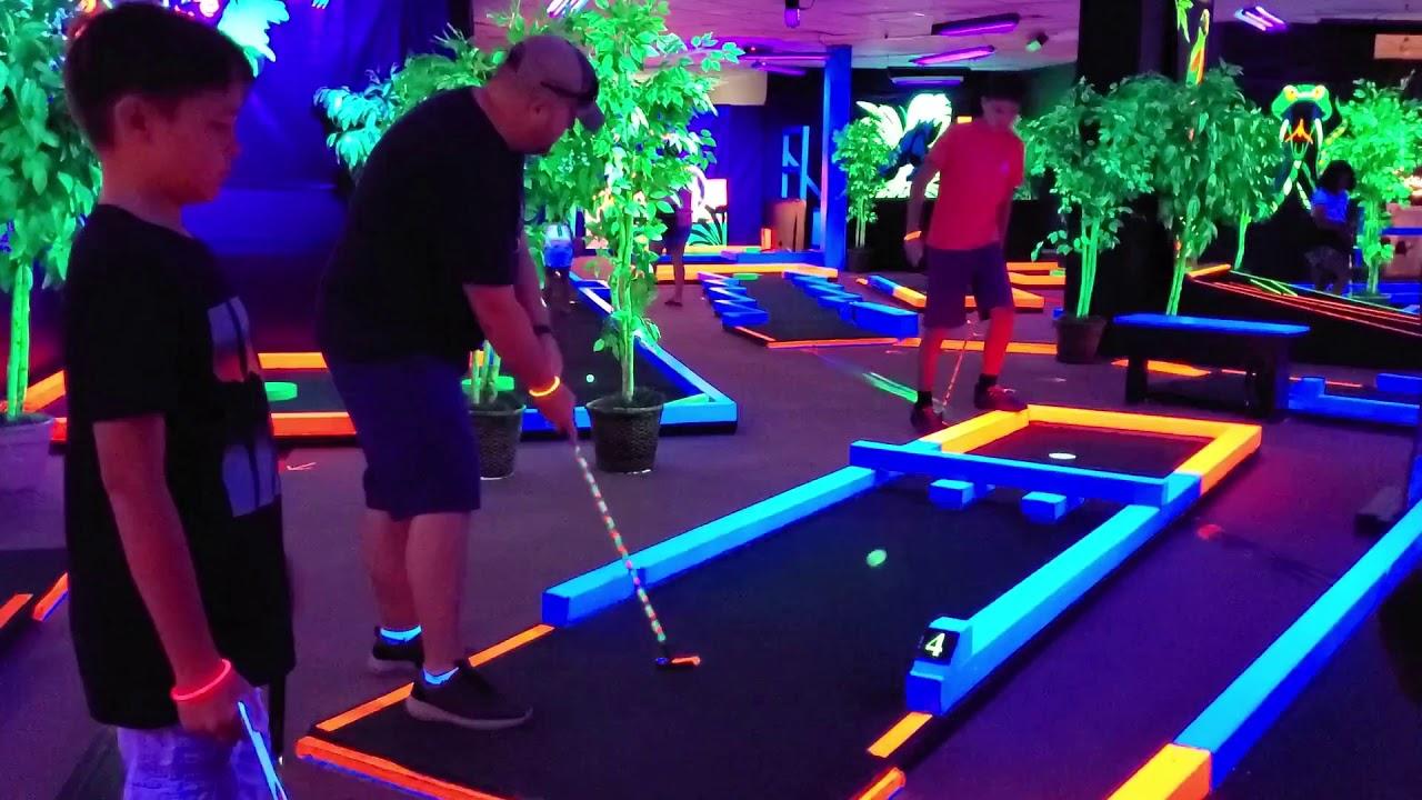 Glow Putt Mini Golf | Oahu Hawaii