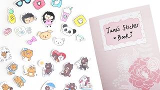 DIY Stickers & Sticker Book