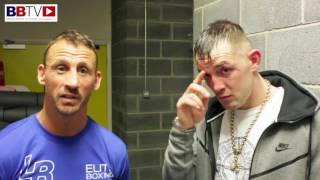 LUKE BLACKLEDGE back with a stoppage win, considers move to middleweight