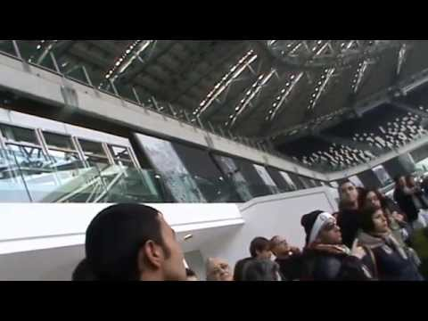 juventus stadium tour dal vivo / 1