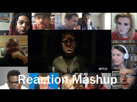 The Punisher Trailer # 2 REACTION MASHUP