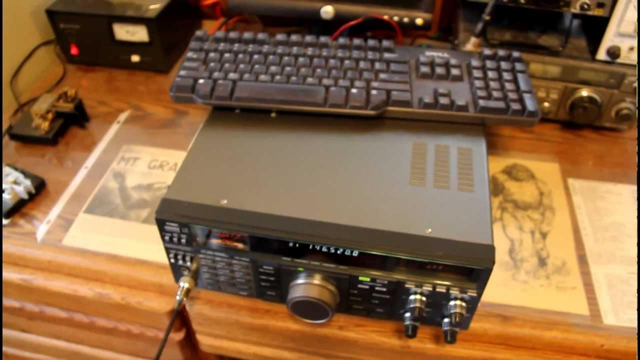 Testing a Kenwood TS-790A all mode VHF/UHF transceiver