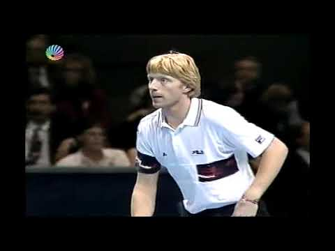 Boris Becker vs Pete Sampras RR  ATP Tour 1991