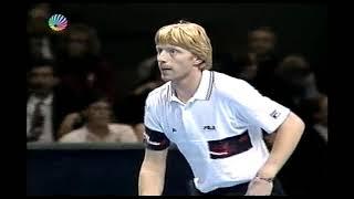 Boris Becker vs Pete Sampras RR  ATP Tour 1991