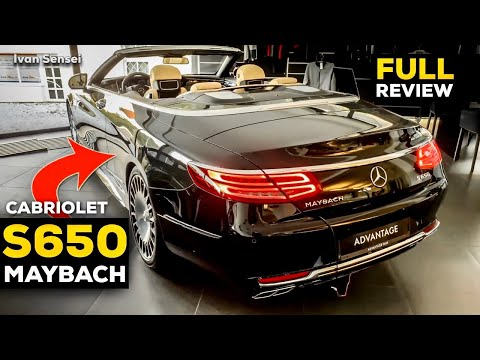 The Mercedes-Maybach S650 Cabriolet NEW Rare FULL Review Interior Infotainment