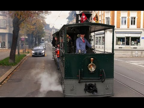 Bern Trams - Driver's Eye View - Part 2