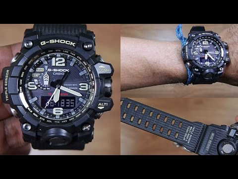8b535de7758 CASIO G-SHOCK MUDMASTER GWG-1000-1A TRIPLE SENSOR - UNBOXING - YouTube