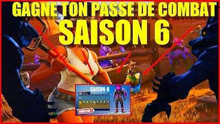 EN VIVO FORTNITE GAGNE TON PAS DE COMBAT SAISON 6 / RUSH THE TOP 1 FORTNITE SAISON 6