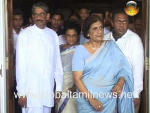 Chandrika Movie_0001.wmv (CBK extends support to Fonseka )