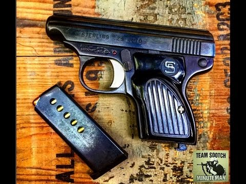Sterling Arms 25 ACP Pocket Pistol Review