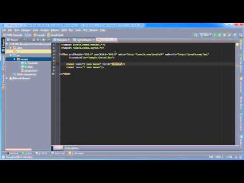 JavaFX Java GUI Tutorial - 33 - Initialize, Binding, and Reusable Components