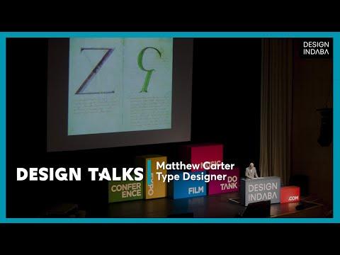 Matthew Carter on untypical typefaces