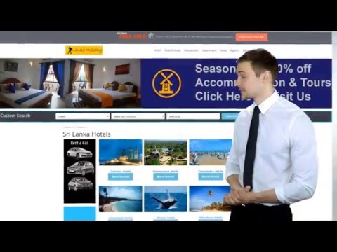Sri Lanka Hotels 2018/ Sri Lanka Holidays Directory 2018