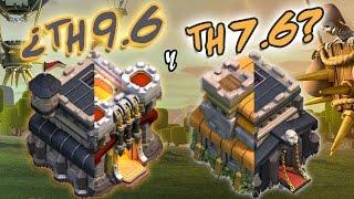 ¿Ayuntamientos 9.6 y 7.6?   TH9 con Centinela y TH7 con Reina   HÍBRIDOS EXTREMOS para Guerra