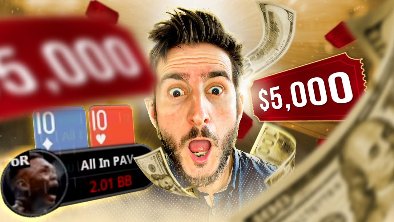 Download BUBBLE FOR A $5,000 MAIN EVENT TICKET!