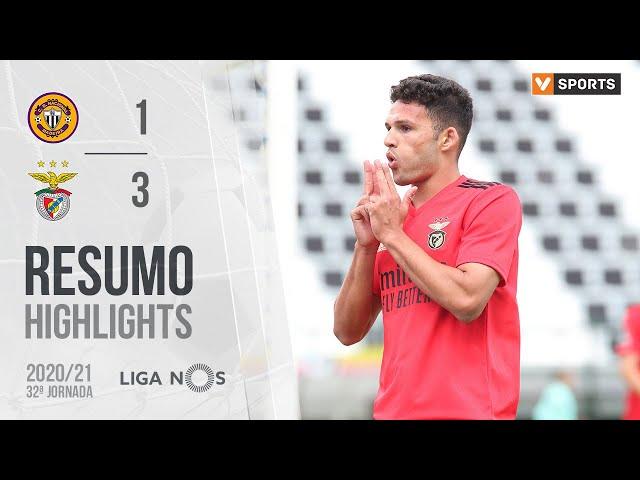 Highlights | Resumo: CD Nacional 1-3 Benfica (Liga 20/21 #32)