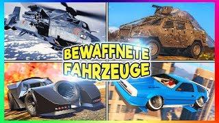 TOP 10 BEWAFFNETE FAHRZEUGE AUS GTA 5 ONLINE!