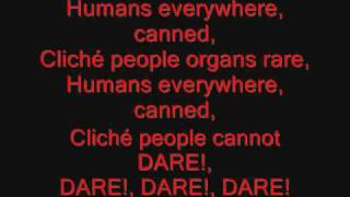 System of a Down - CUBErt Lyrics