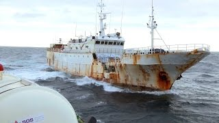 The Sam Simon Intercepts Two Poaching Vessels That Evaded New Zealand Navy