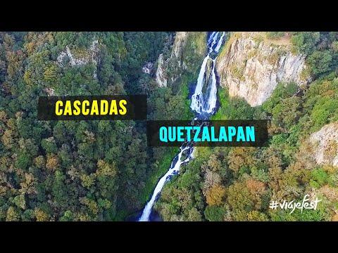Cascadas Quetzalapan y Tulimán Puebla