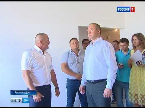 Директор ЮГСТРОЙИНВЕСТ Юрий Иванов устроил экскурсию для Главы Города