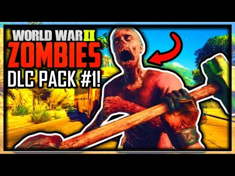 Call of Duty WW2 ZOMBIES DLC 1 TRAILER & IMAGES REVEALED! (COD WW2 ZOMBIES DLC 1 Trailer & Leaked)