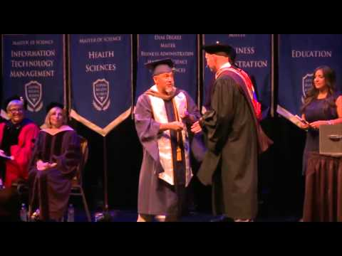 Master's Degree, Graduation 2015, Trident University