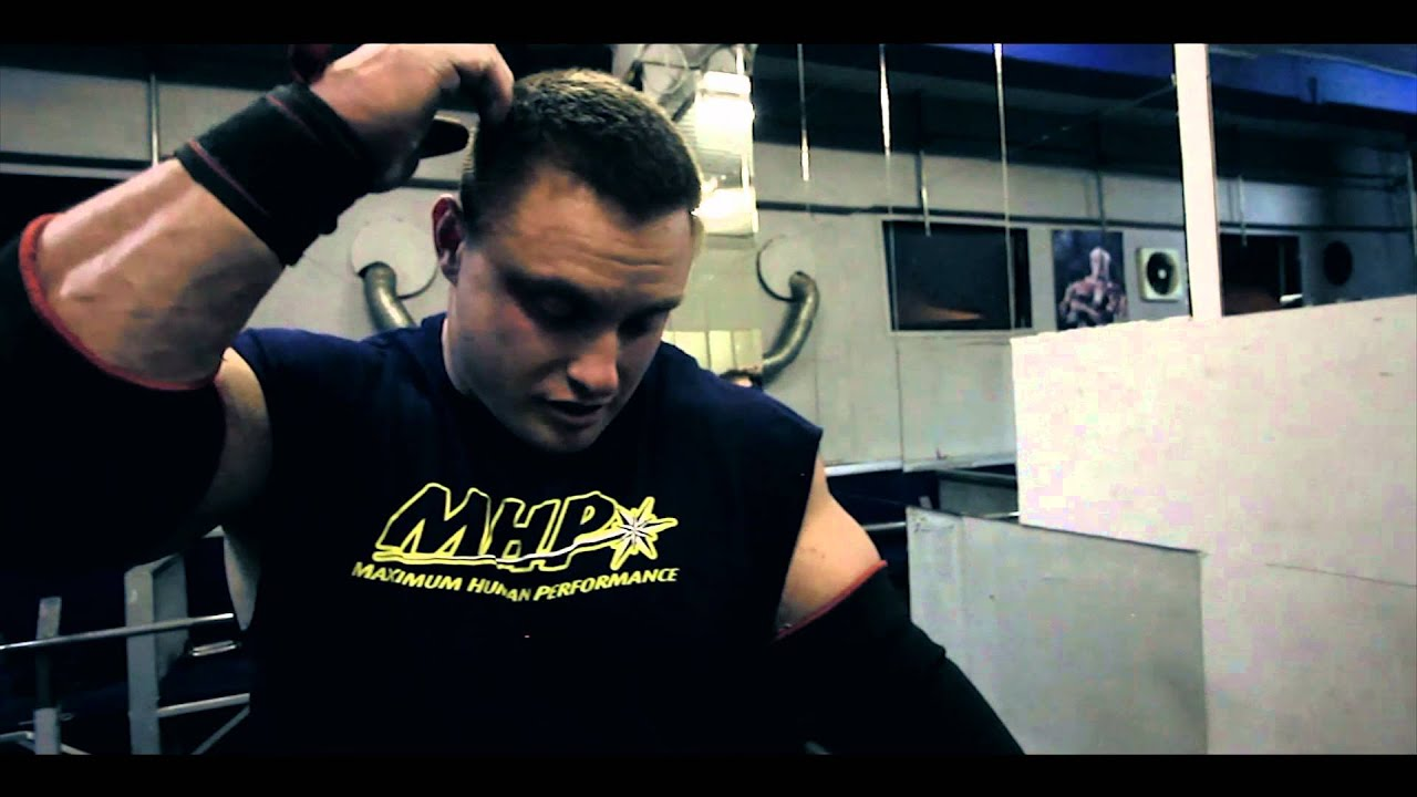 Strongman Bench Press Part - 18: Krzysztof Radzikowski Bench Press Session - YouTube