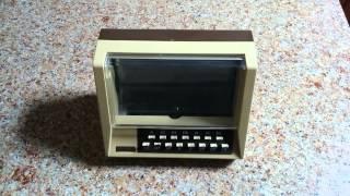 Vintage Electronics - Tandy Telepon TBX-15 Electronic Rolodex