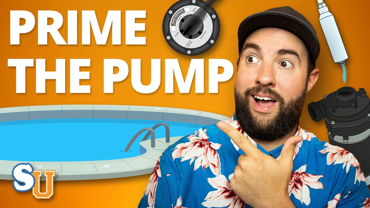 How to PRIME a Swimming POOL PUMP | Swim University