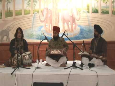 Satnam Singh - Santoor & Tari Khan - Tabla (clip 4) Travel Video
