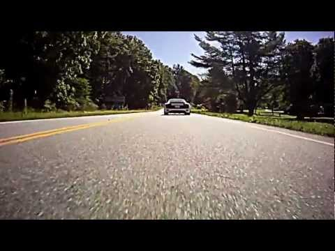 Driving up Blood Mountain