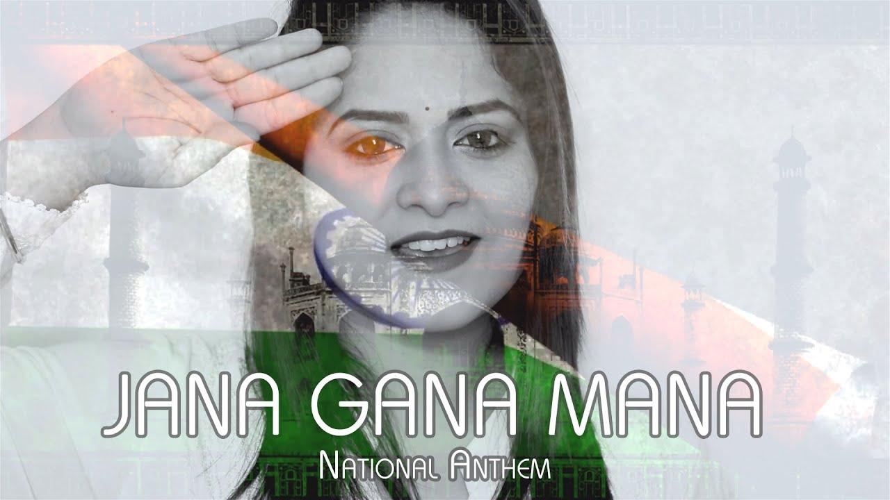 Jana Gana Mana - National Anthem | Amrita Nayak | Independence Day Special