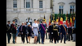 The Belgian Cenotaph Parade, London 14-07-2018