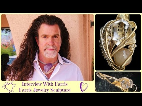 Interview with Farris - Farris Jewelry Sculputre - Beautiful Powerful Activating Divine Jewellery