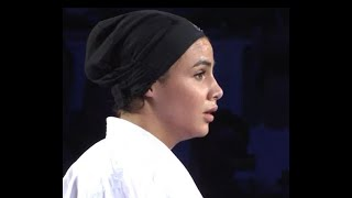 Karate 1 Tokyo 2019. Final Female: Sara Bahmanyar (IRA) vs. Alexandra Recchia (FRA)