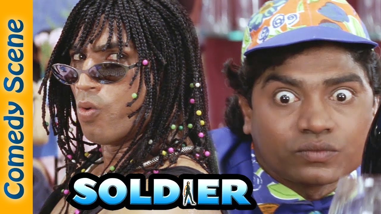 Superhit Comedy Scene - Soldier Movie  - Bobby Deol - Preity Zinta - Johnny Lever - #Indian Comedy
