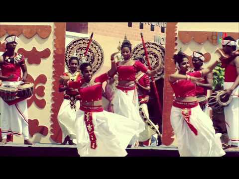 "HD - KANDYAN DANCE  BY ""ECHO OF CEYLON"" - SRI LANKA DAY 2012"