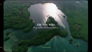 Kygo - Say You Will w/ Patrick Droney & Petey (Official Audio)