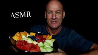 ASMR: FRESH FRUIT PLATTER (EATING SOUNDS) SOFT SPOKEN