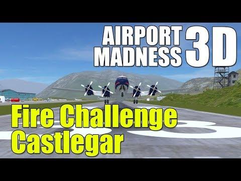 Airport Madness 3D PC Gameplay - Castlegar Fire Challenge