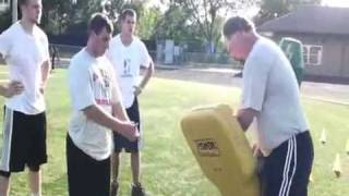 How to become a better Pass Rusher - Football training for D Line