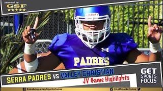 WCAL JV | Serra Padres vs Valley Christian Warriors