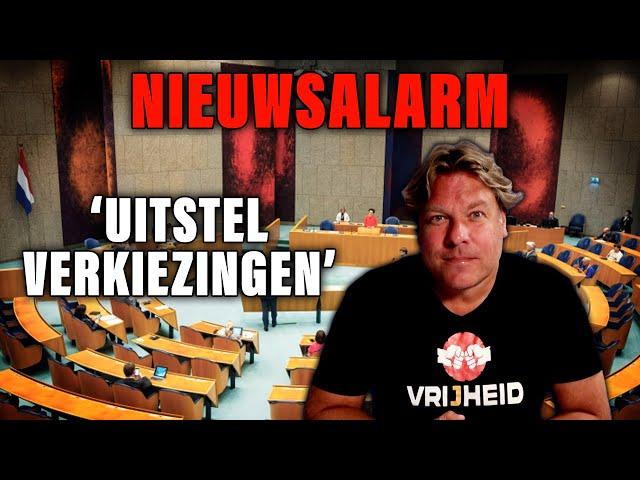 NIEUWSALARM: 'UITSTEL VERKIEZINGEN' - DE JENSEN SHOW #301