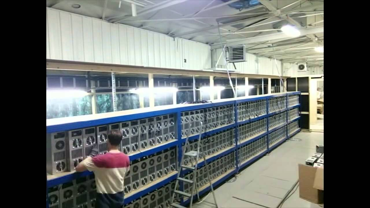 Genesis Mining Server Farm Set Up