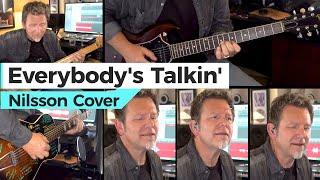 Nilsson - Everybody's Talkin' - Robert Cassard on a vintage Stella guitar - Open G Tuning