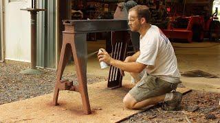 Restoring a GORGEOUS Antique Wood Lathe!