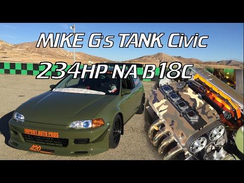 Mike G's EG6 TANK Civic B18C All-Motor